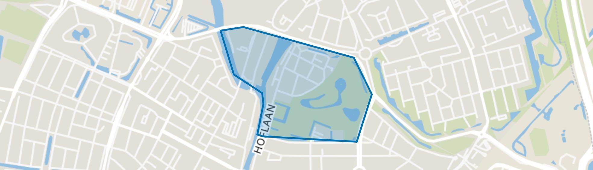 Hofbuurt, Vlaardingen map