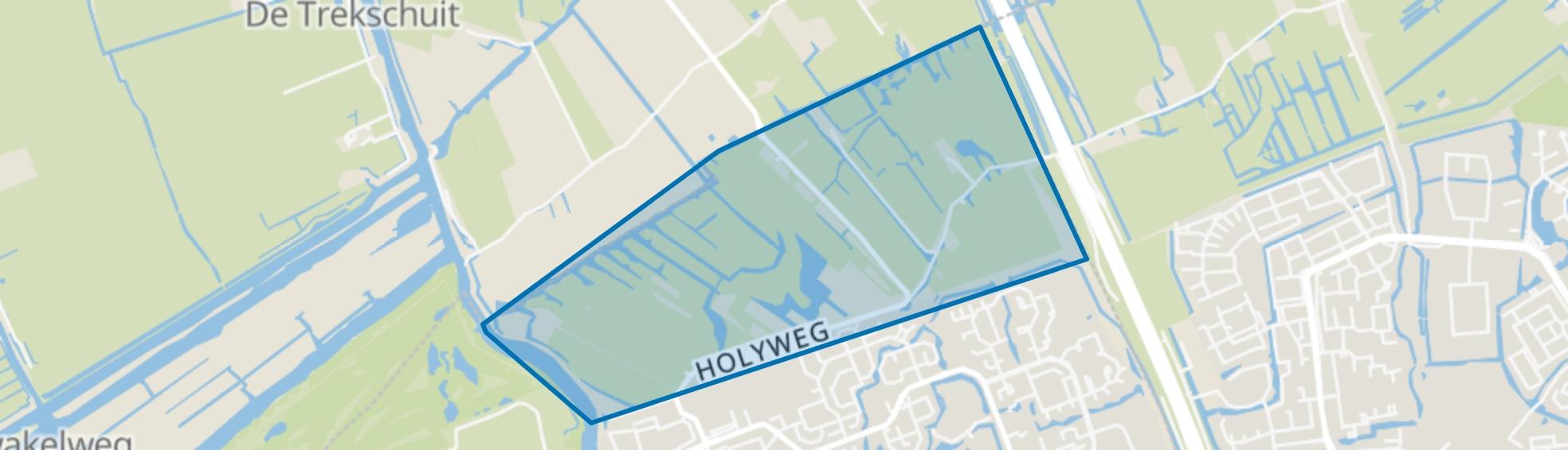 Holierhoekse Polder, Vlaardingen map