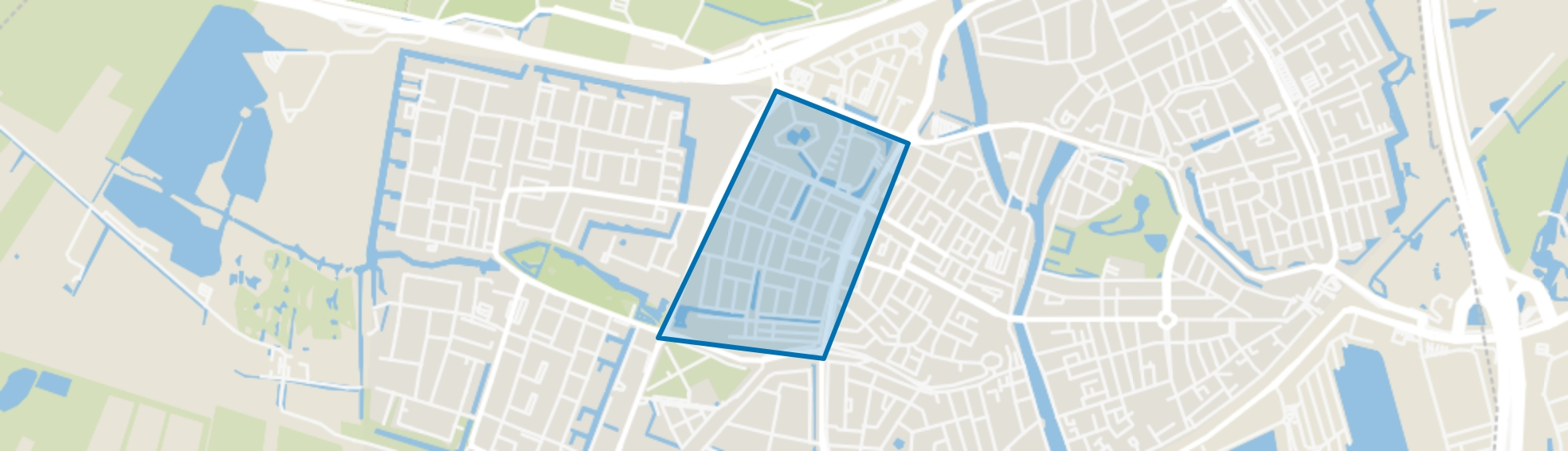 Indische Buurt, Vlaardingen map