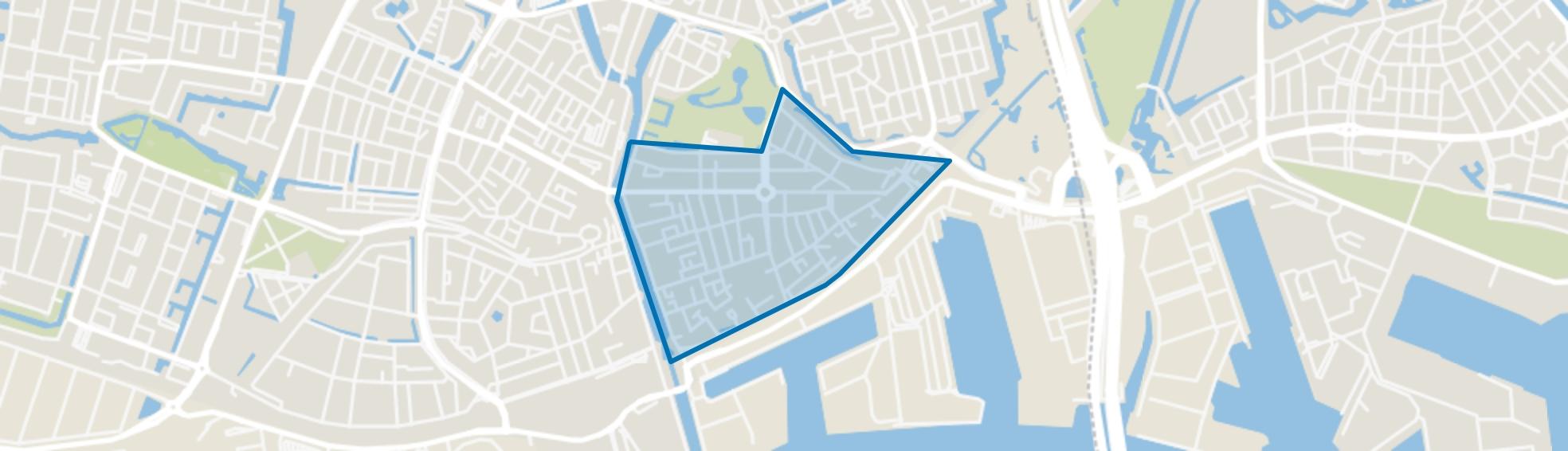 Oostbuurt, Vlaardingen map