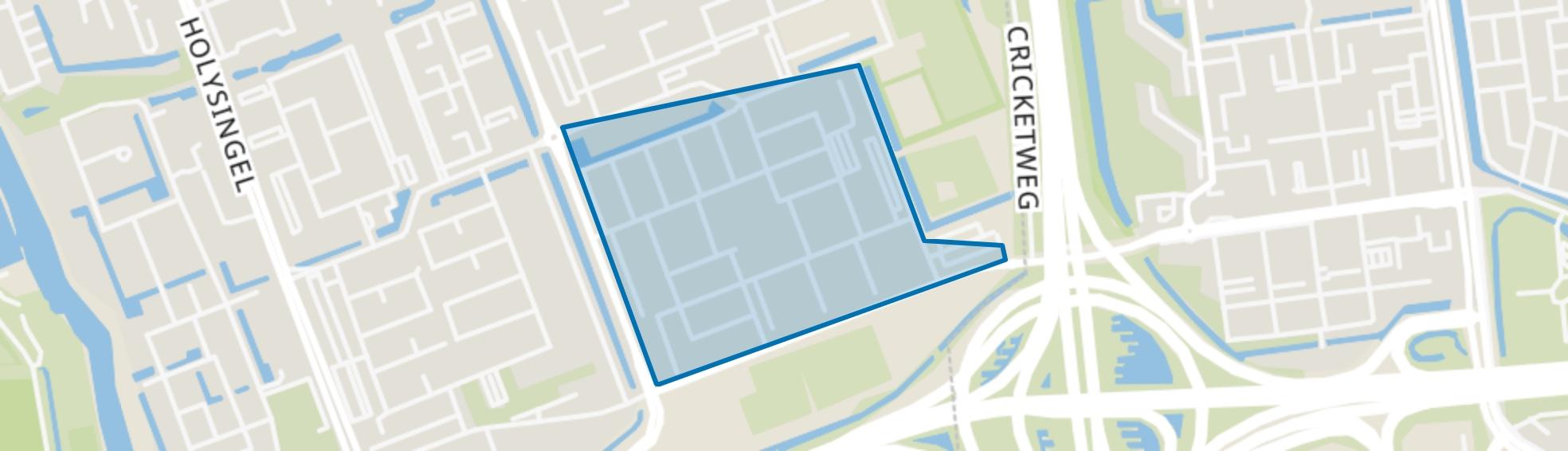 Vogelbuurt Zuid, Vlaardingen map