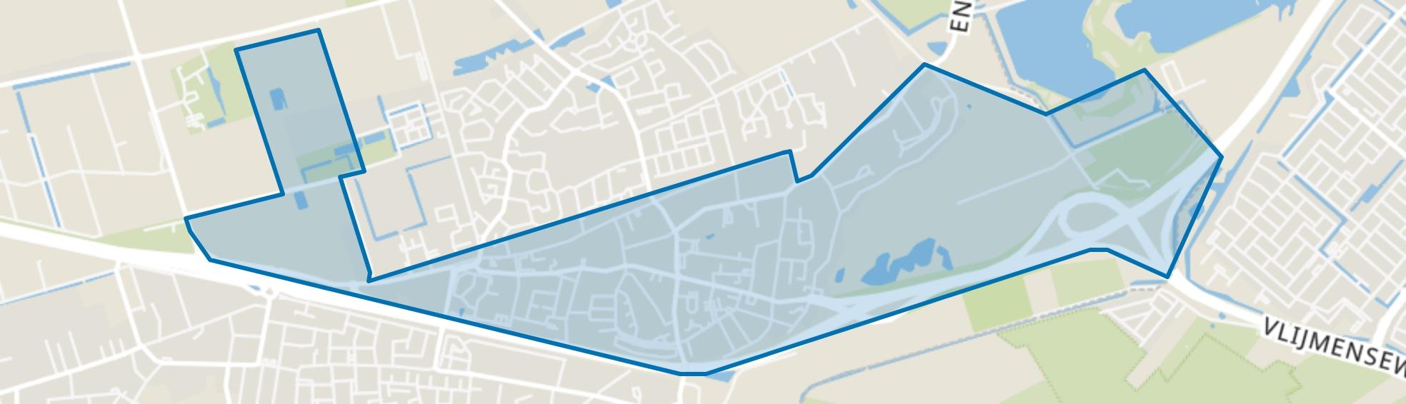 Vlijmen-Dorp, Vlijmen map