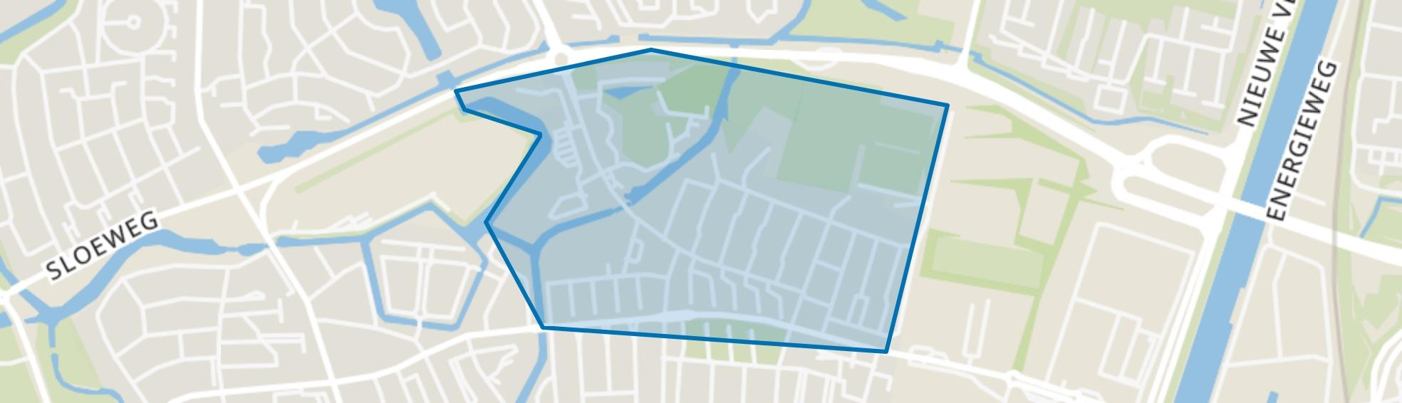Hercules Segherslaan e.o., Vlissingen map