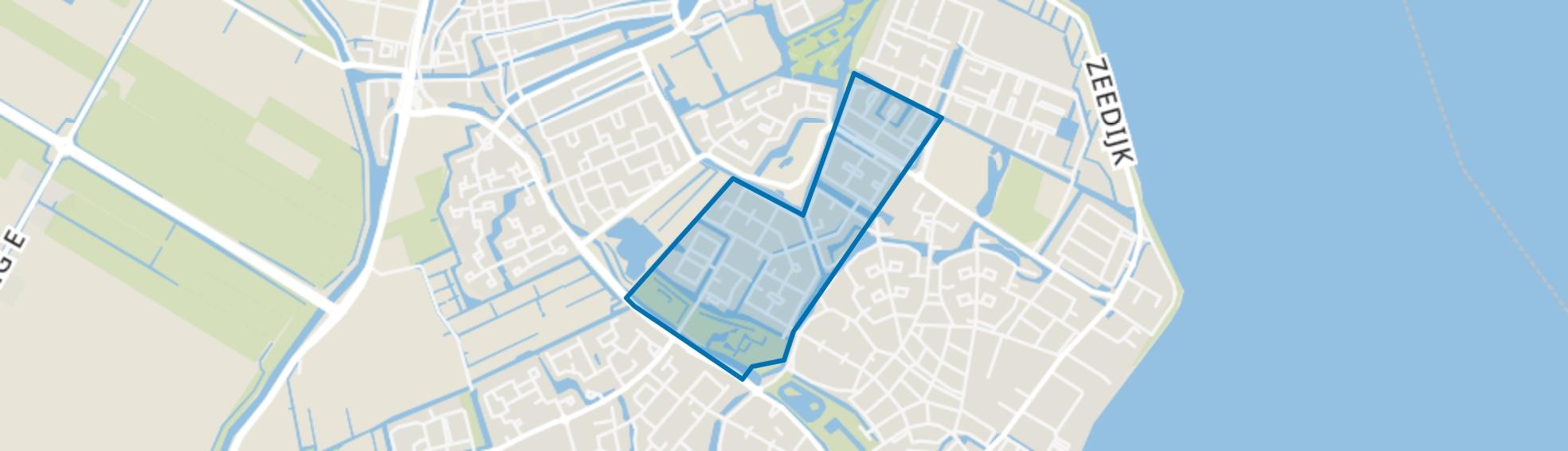 Volendam-Middengebied, Volendam map