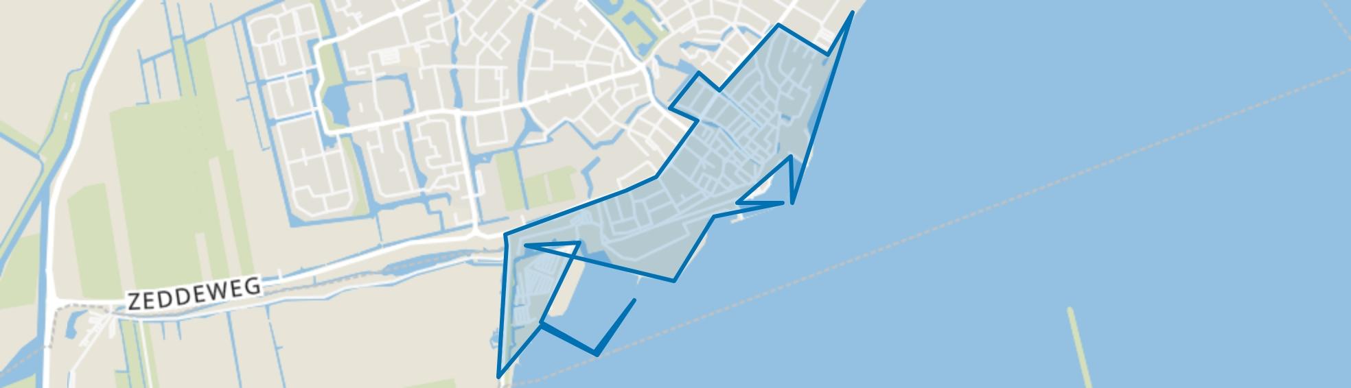 Volendam-Oude kom, Volendam map