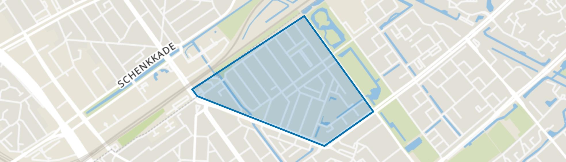 Bovenveen midden, Voorburg map