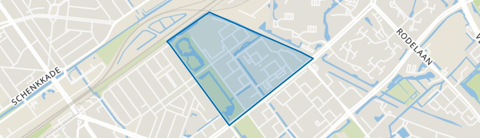Bovenveen noord, Voorburg map
