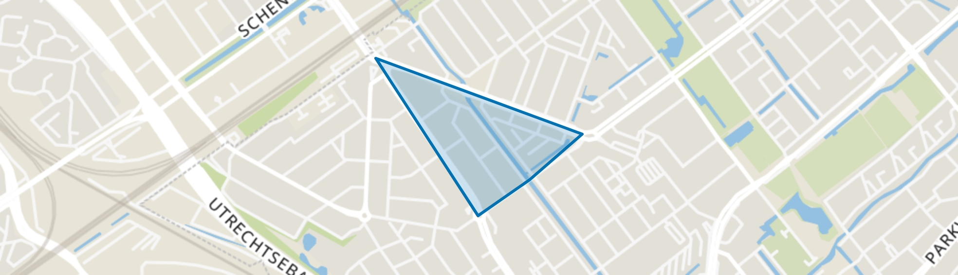 Bovenveen zuid, Voorburg map