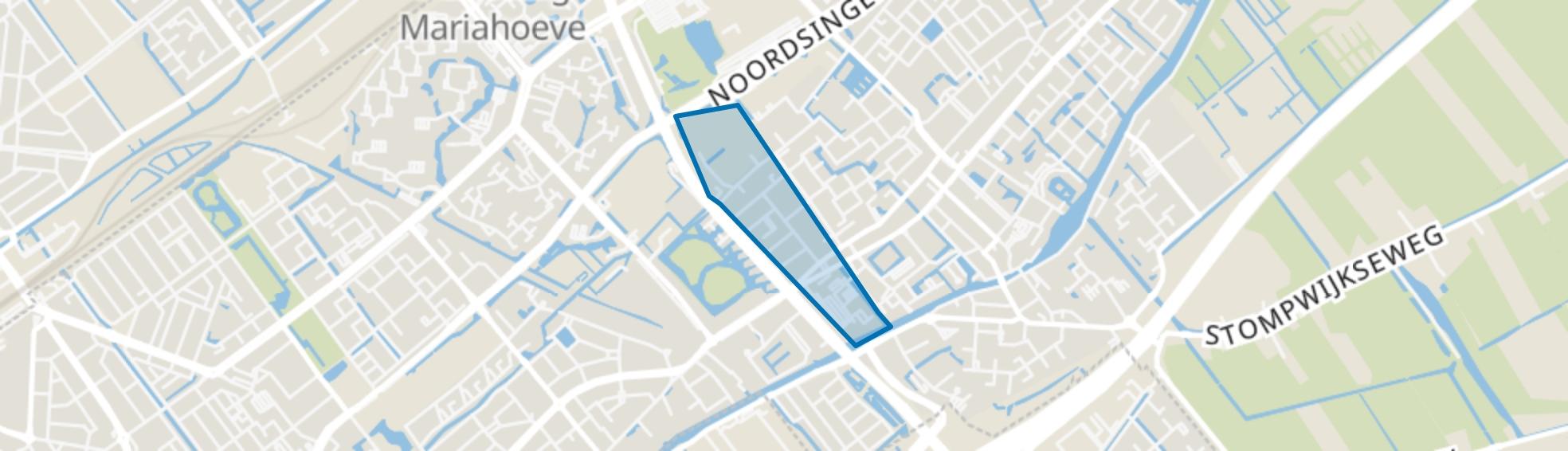 Damsigt, Voorburg map