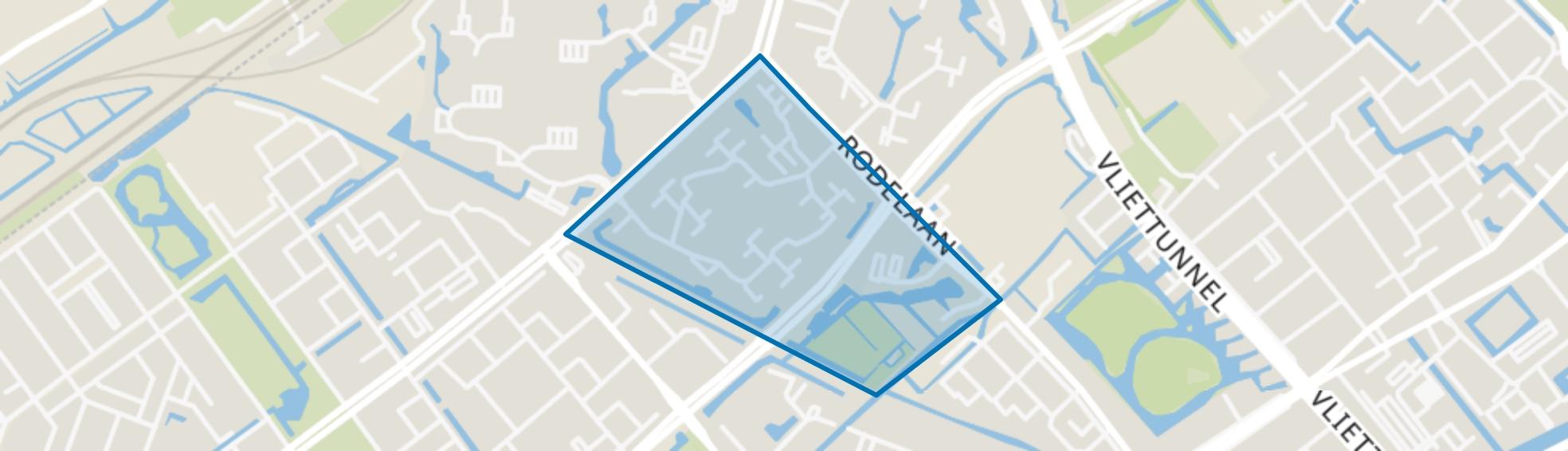 Essesteijn / Tuinen, Voorburg map