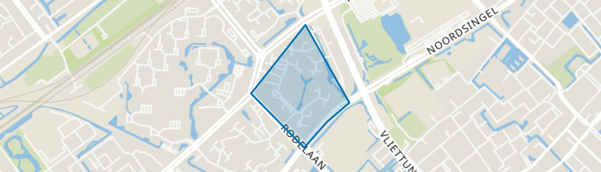 Essesteijn / Weiden, Voorburg map