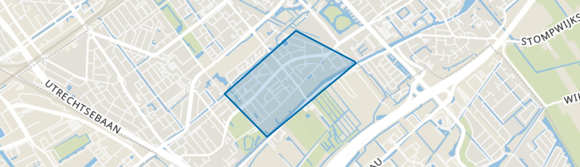 Voorburg Oud noord, Voorburg map