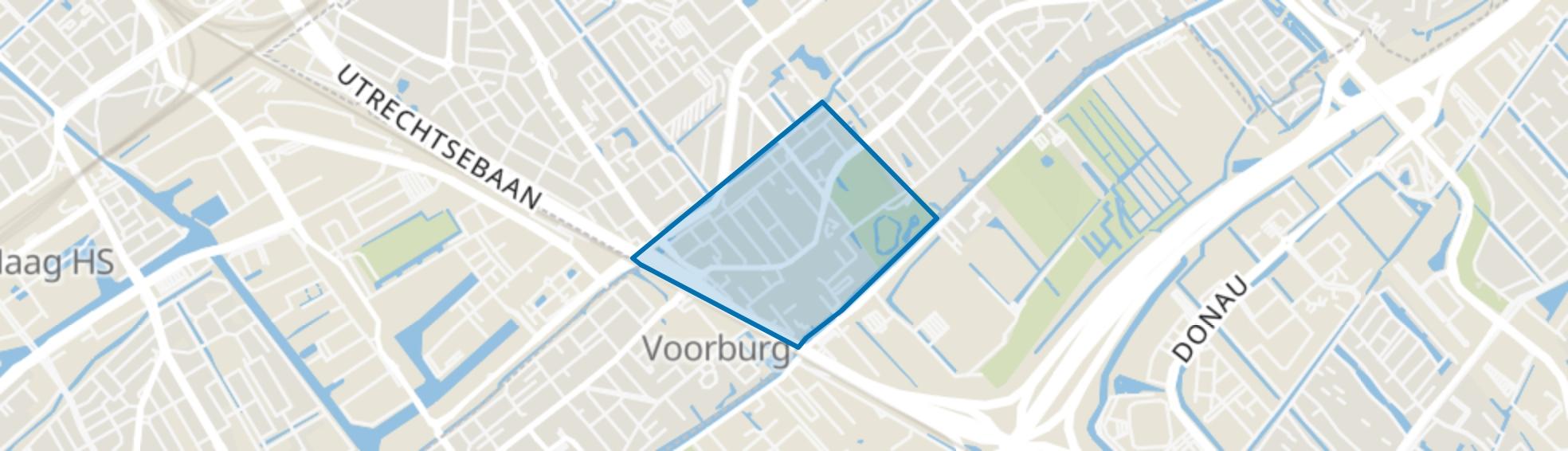 Voorburg Oud zuid, Voorburg map