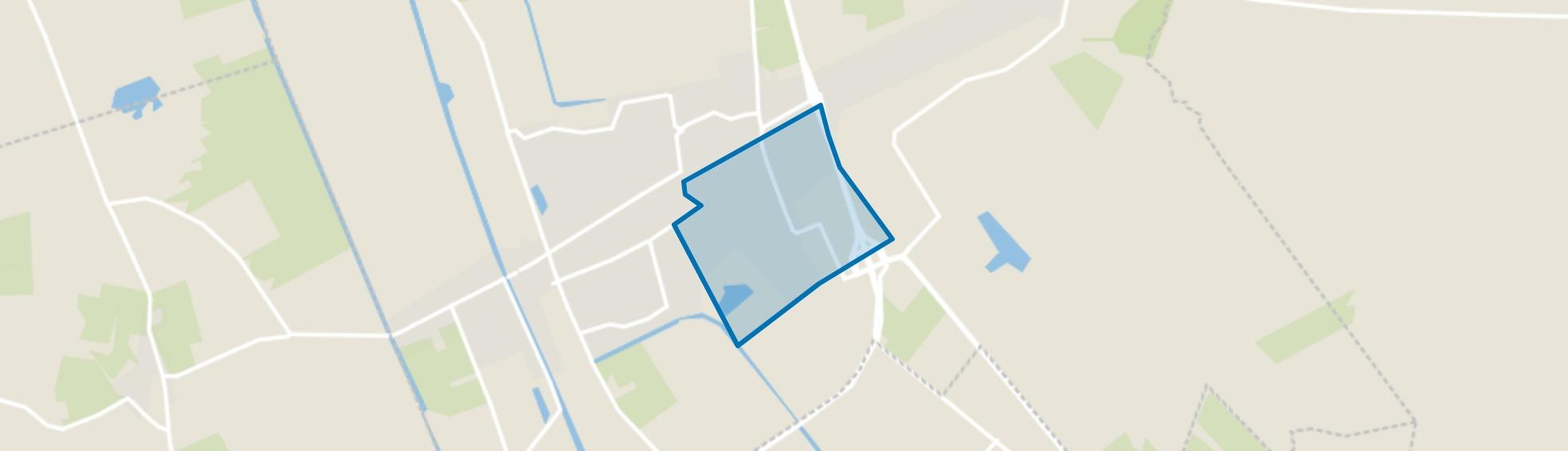 Centrum-Vriezenveen, Vriezenveen map