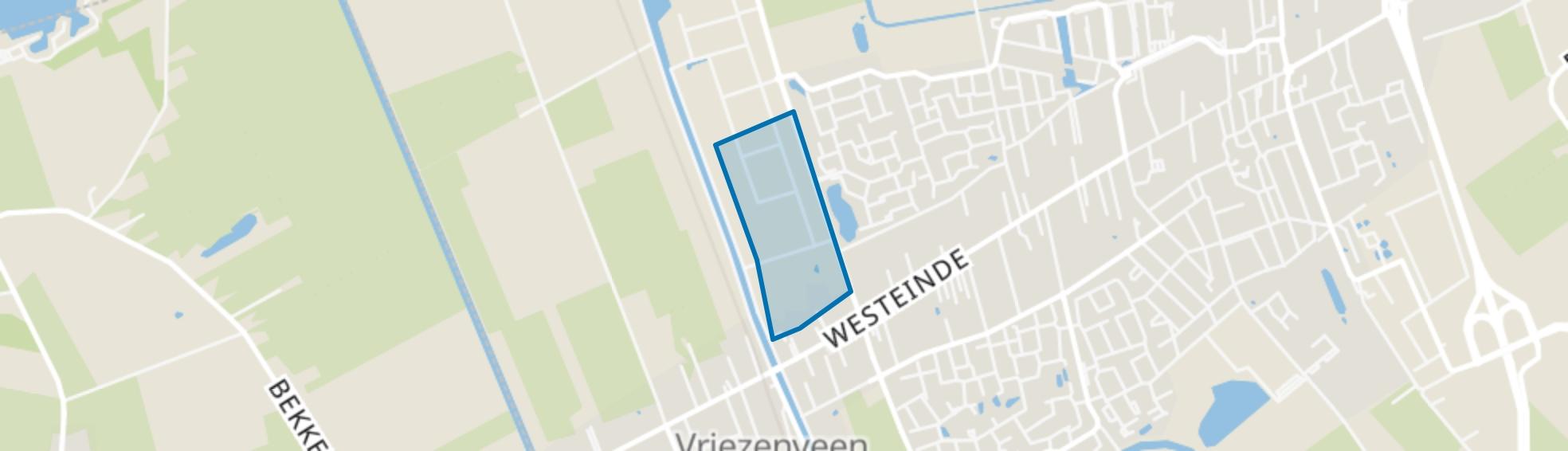 Industrieterrein Vriezenveen-West, Vriezenveen map