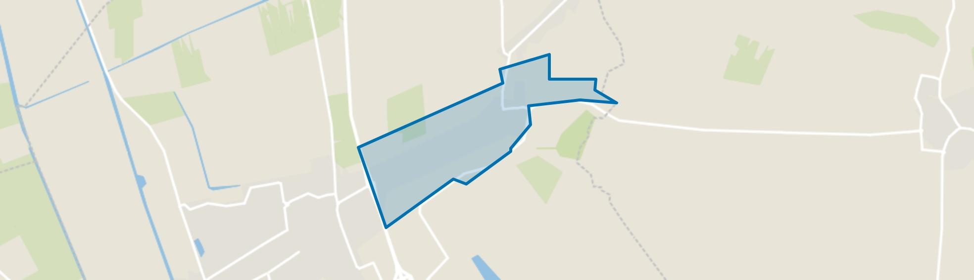 Oosteinde en Slot, Vriezenveen map