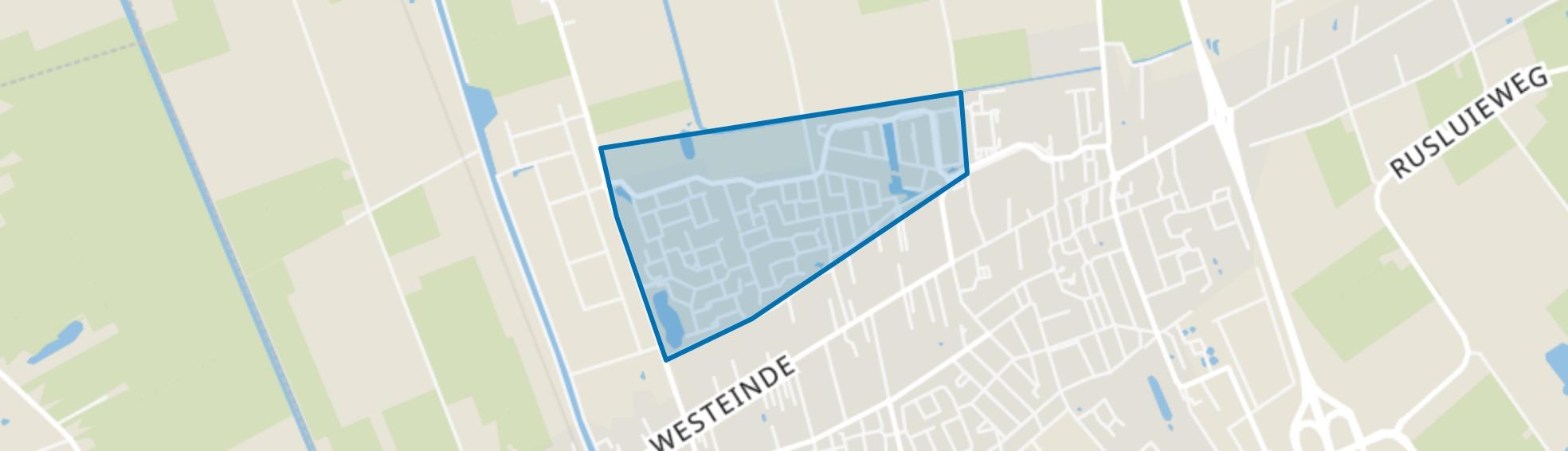 Toekomstig bestemmingsplan Noord, Vriezenveen map