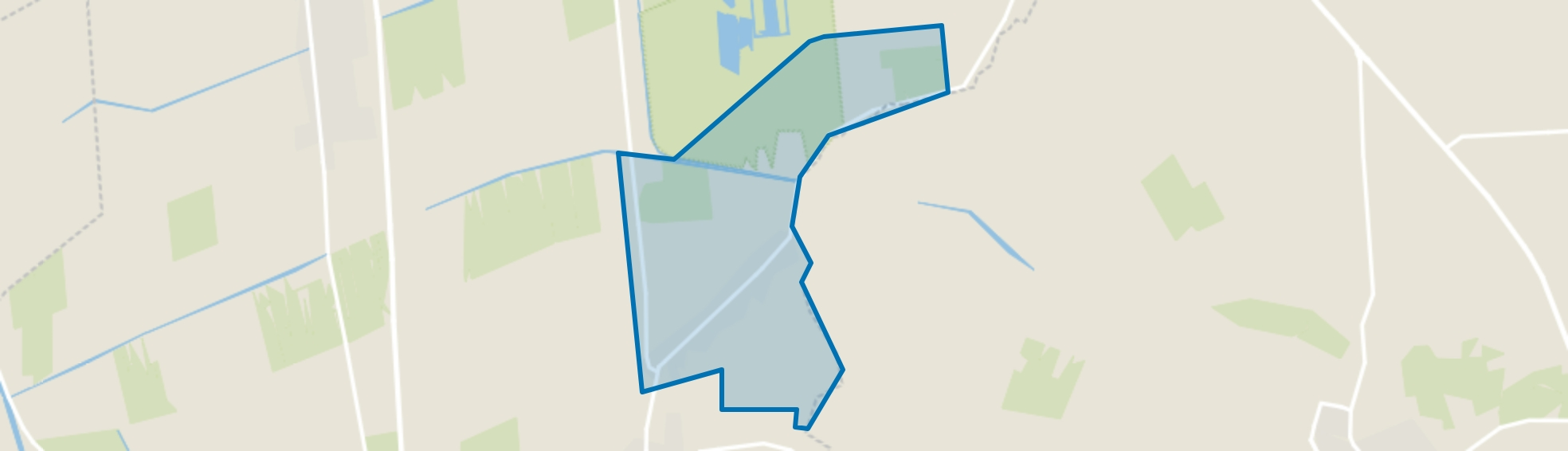 Verspreide huizen De Pollen, Vriezenveen map
