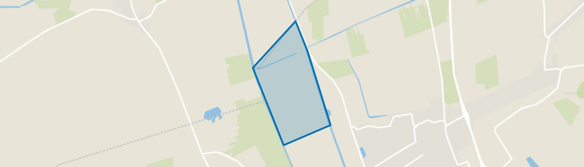 Verspreide huizen De Westerhoeve, Vriezenveen map