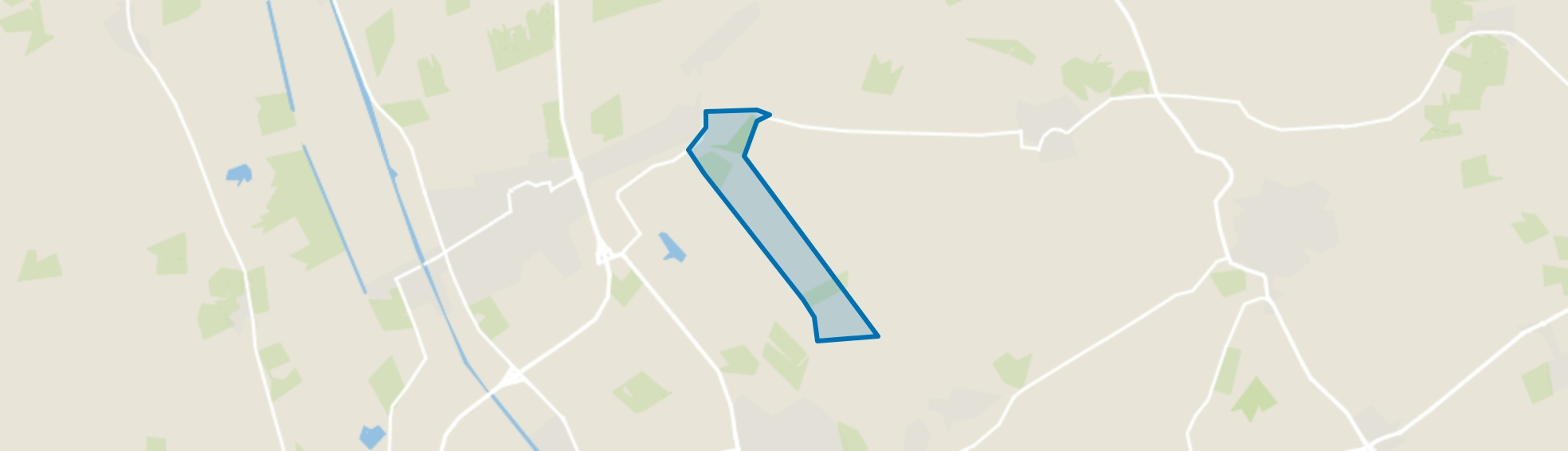 Verspreide huizen Weitemanslanden, Vriezenveen map