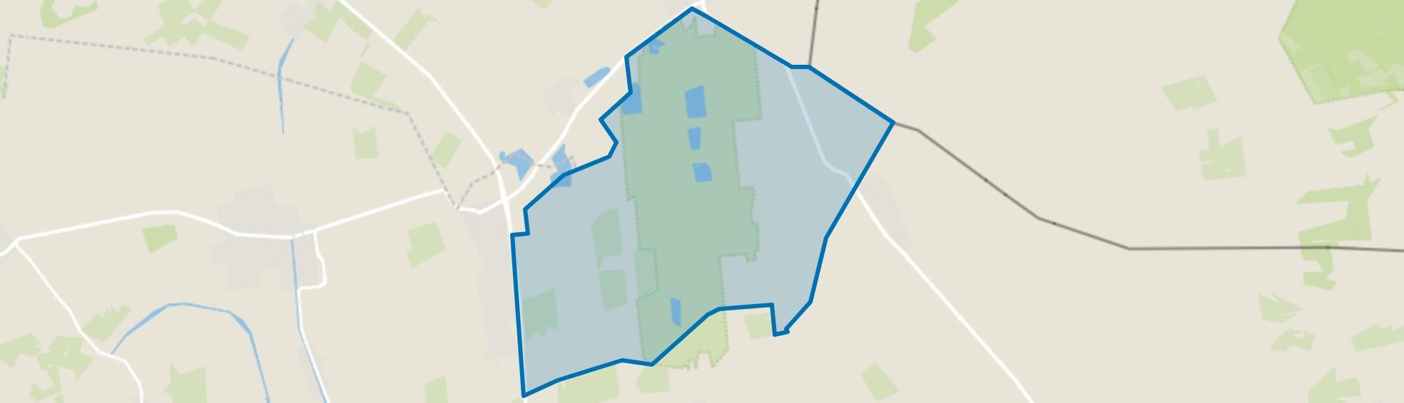Verspreide huizen Westerhaar-Vriezenveensewijk-Oost, Vriezenveen map