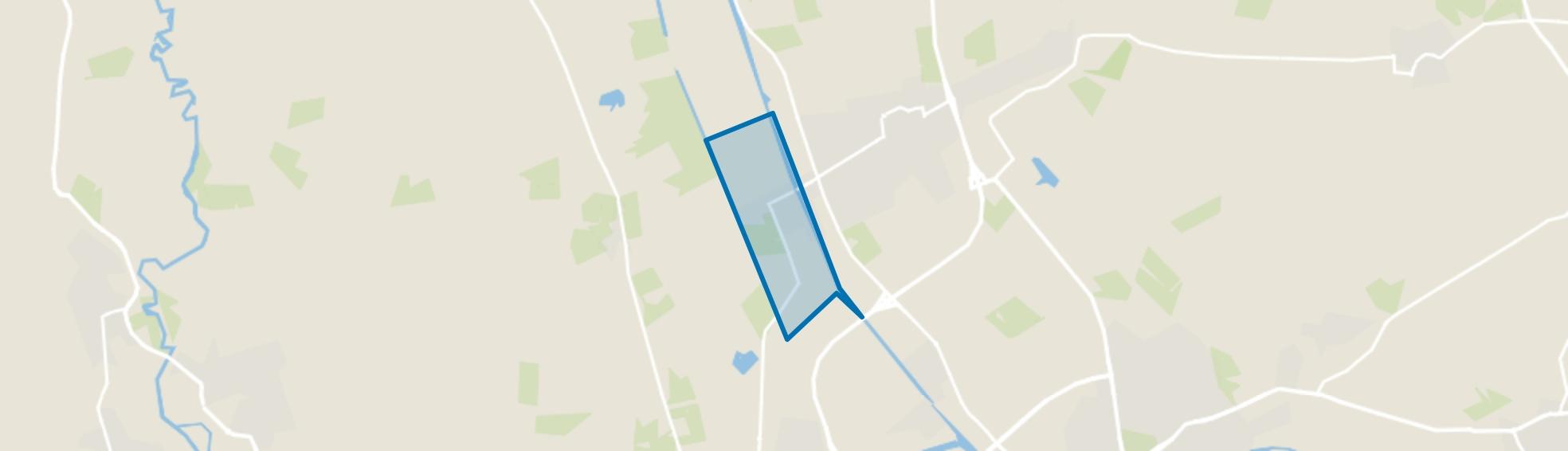 West ten westen Kanaal, Vriezenveen map