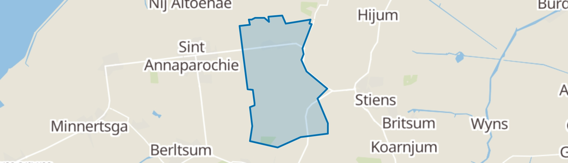 Vrouwenparochie map