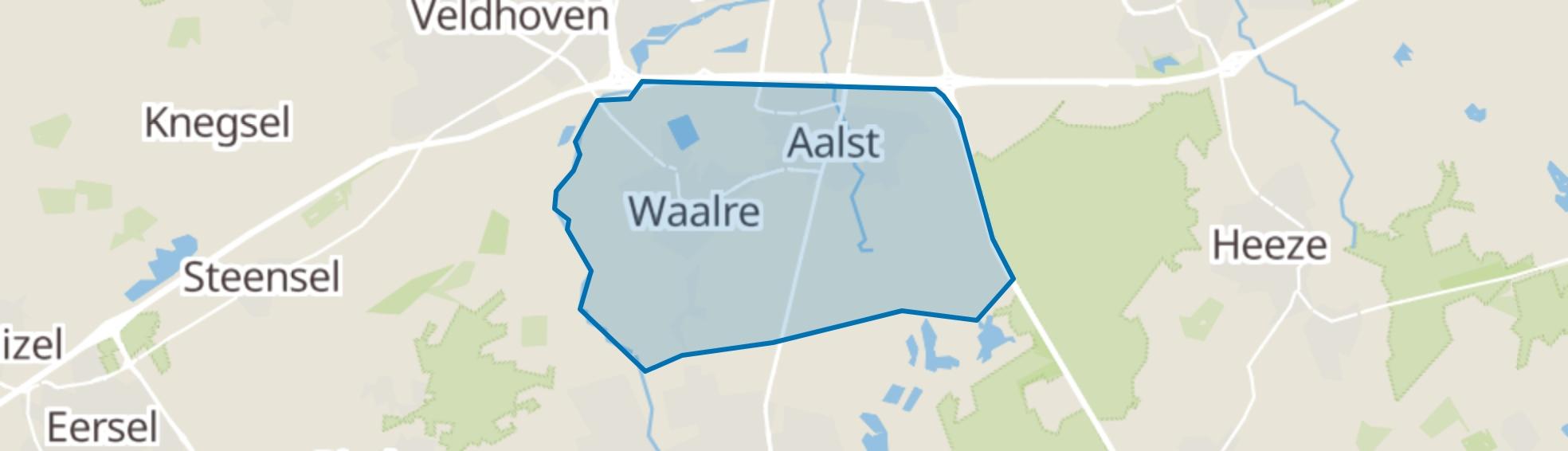 Waalre map
