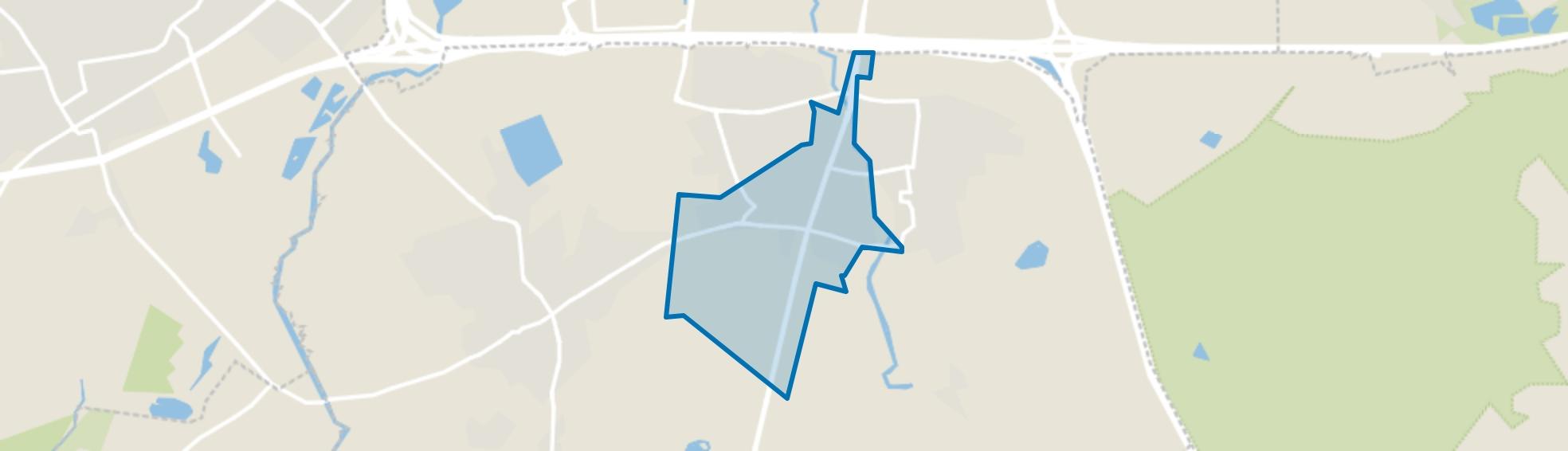 Aalst, Waalre map