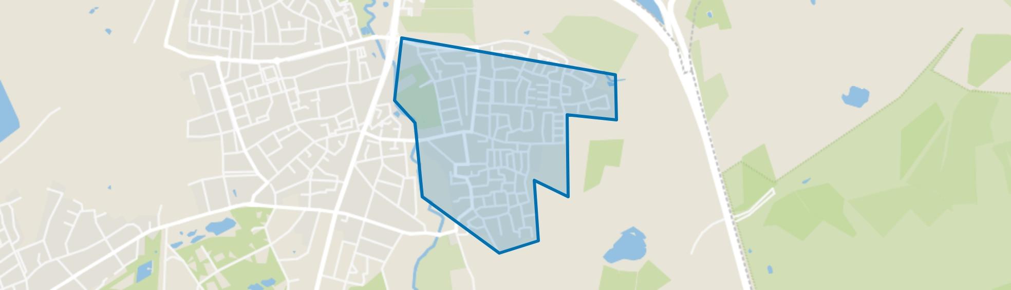Ekenrooi, Waalre map