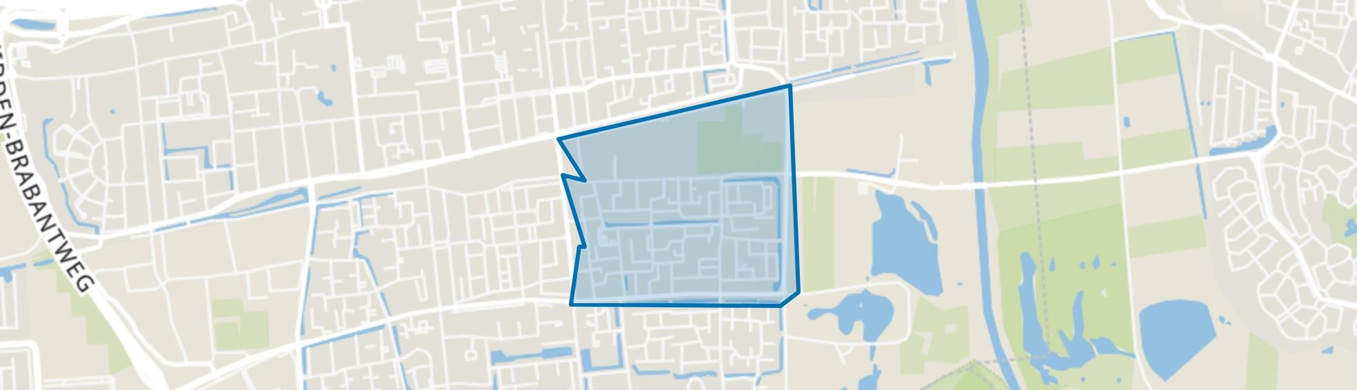 Bloemenoord, Waalwijk map