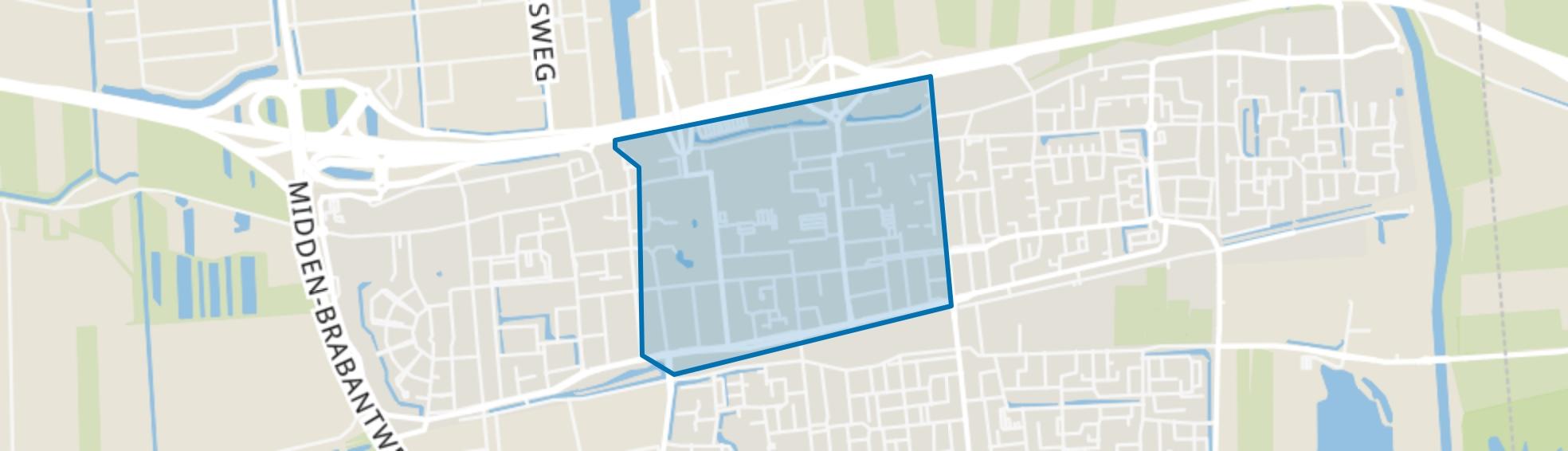 Centrum, Waalwijk map