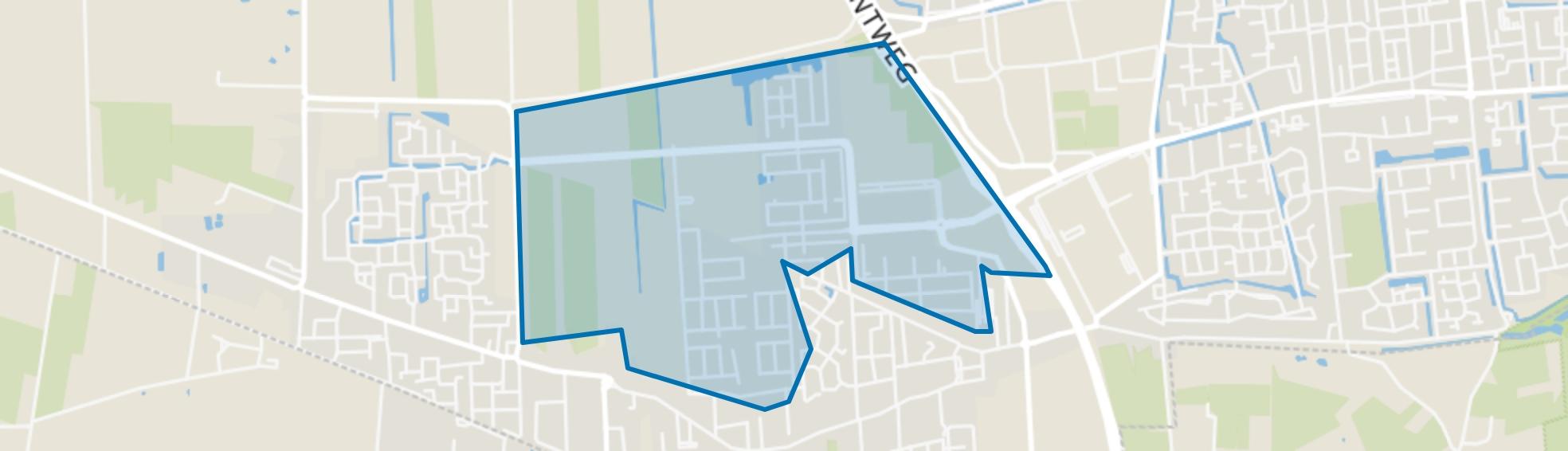 Landgoed Driessen, Waalwijk map