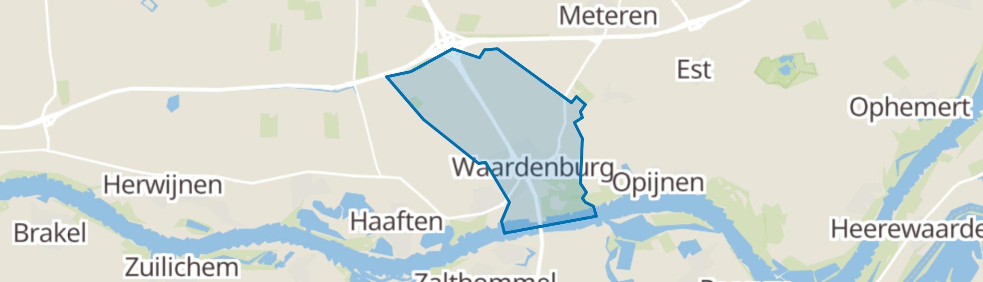 Waardenburg map