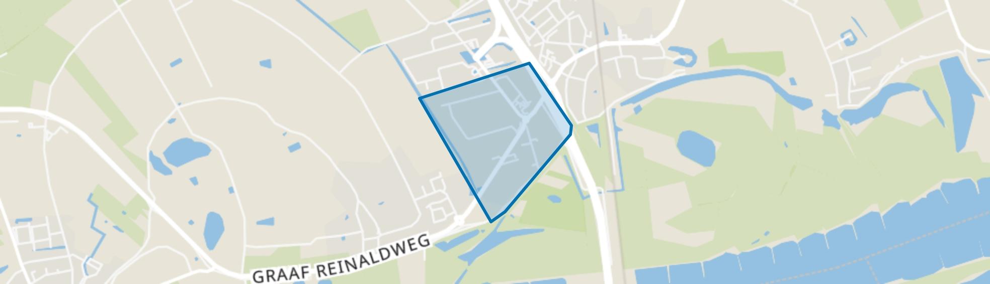 Waardenburg-West, Waardenburg map