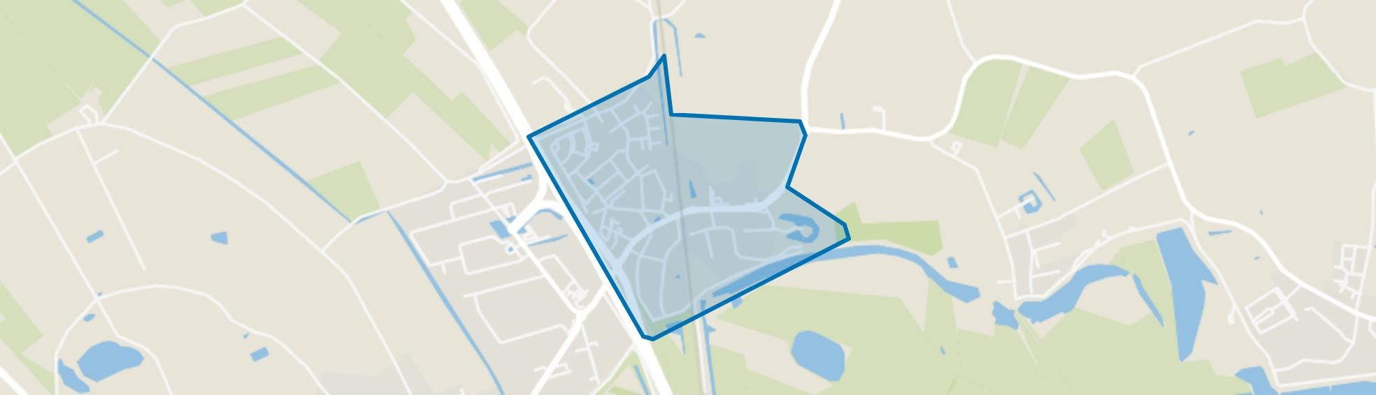 Waardenburg, Waardenburg map