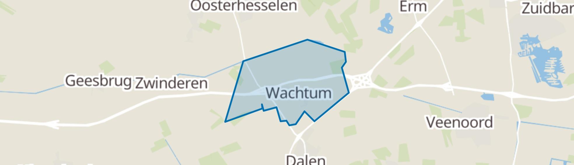 Wachtum map