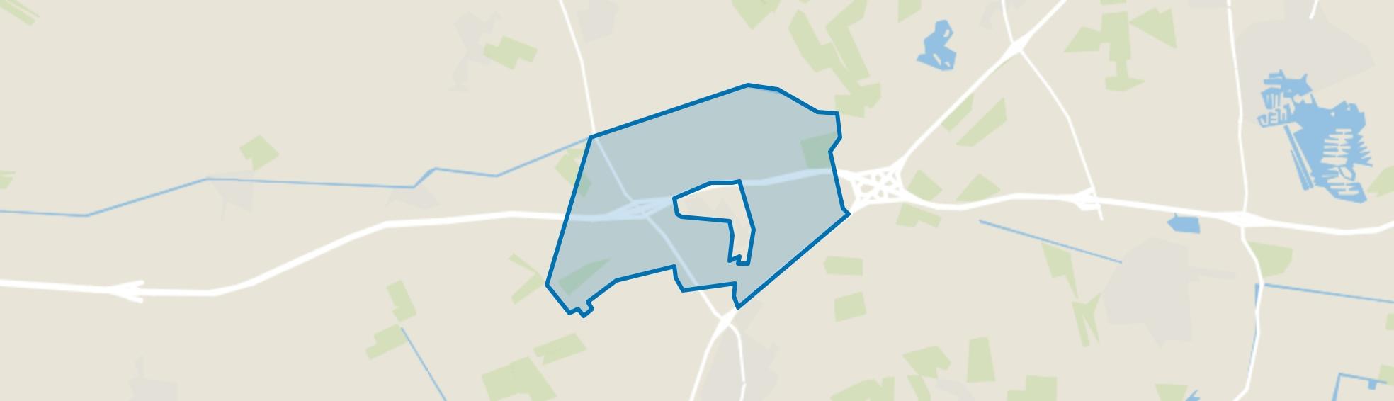 Verspreide huizen Wachtum, Wachtum map