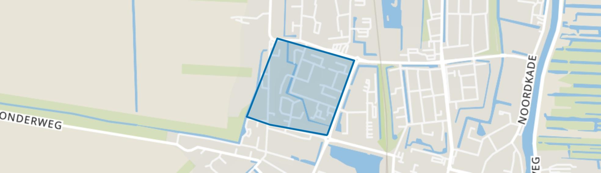 Groenswaard 1, Waddinxveen map