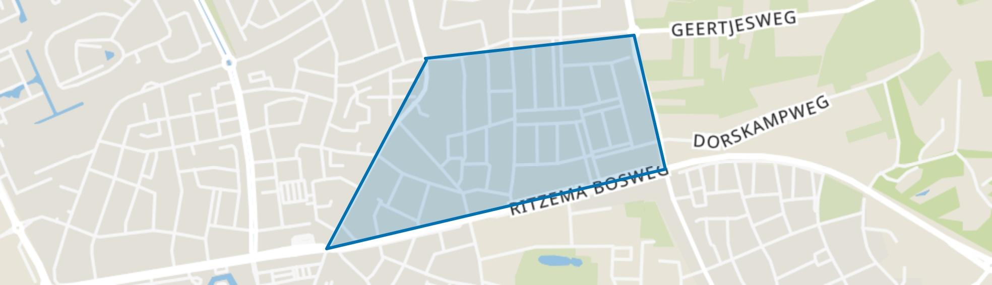 Benedenbuurt, Wageningen map