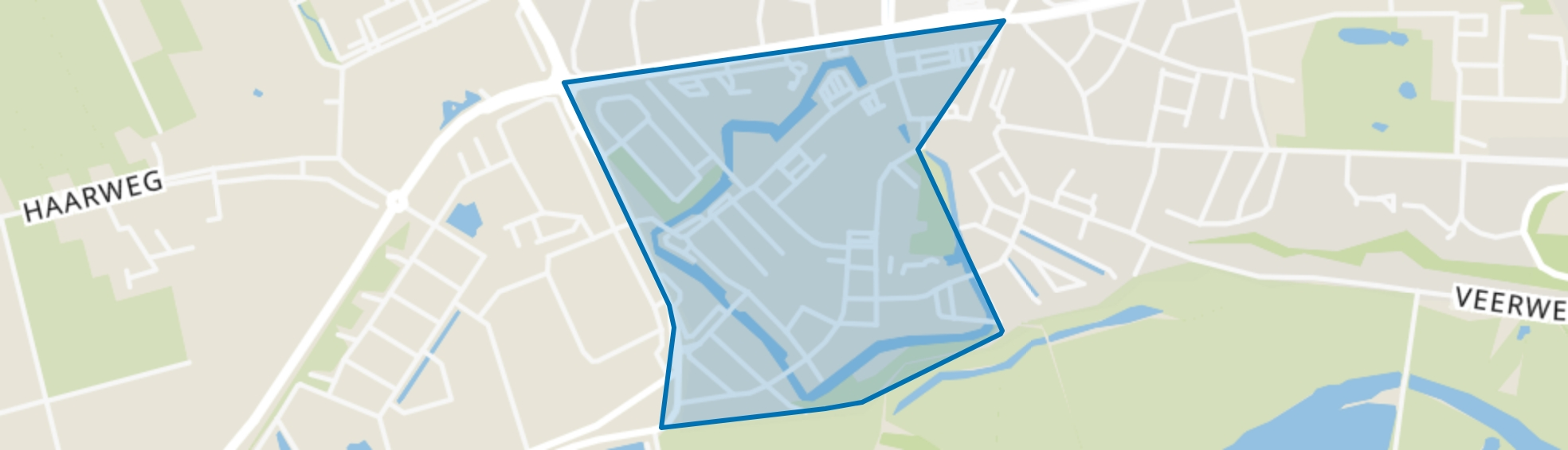Binnenstad, Wageningen map