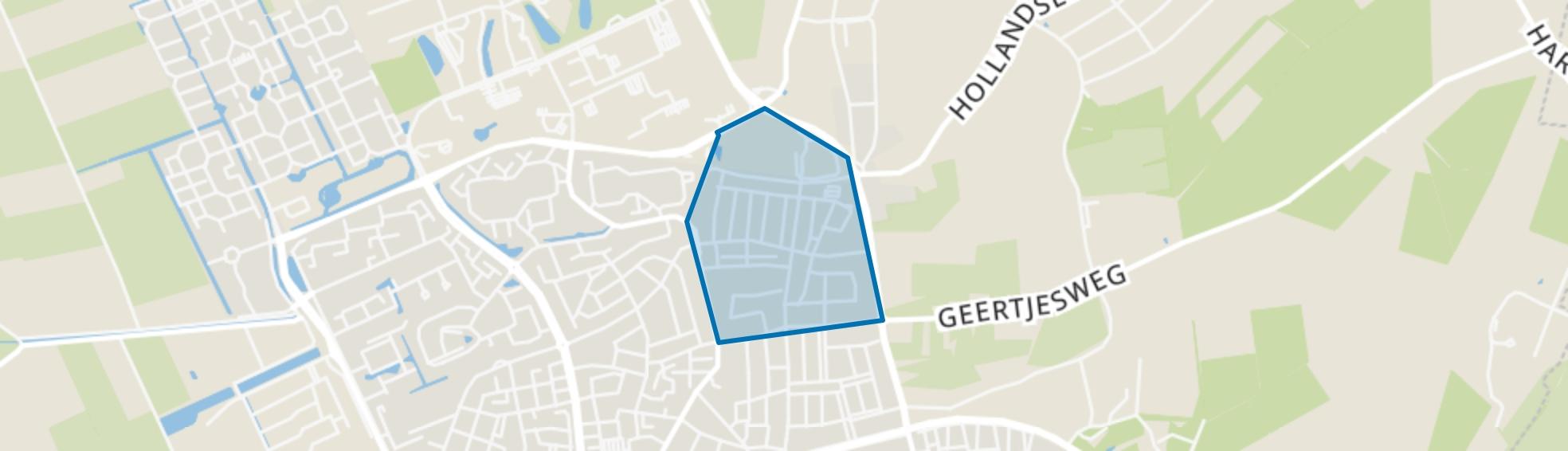 Bovenbuurt, Wageningen map