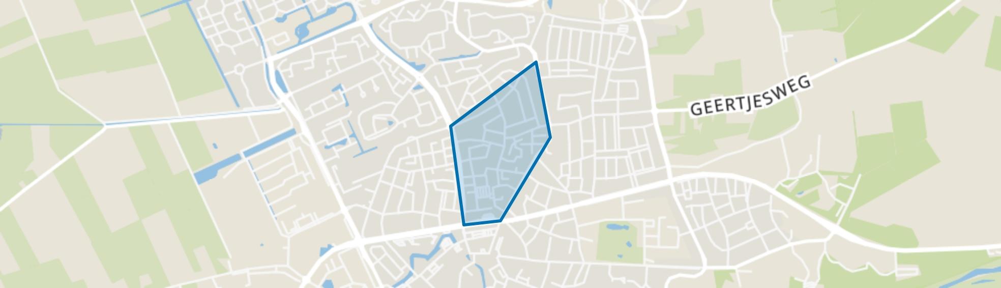 De Buurt-Oost, Wageningen map