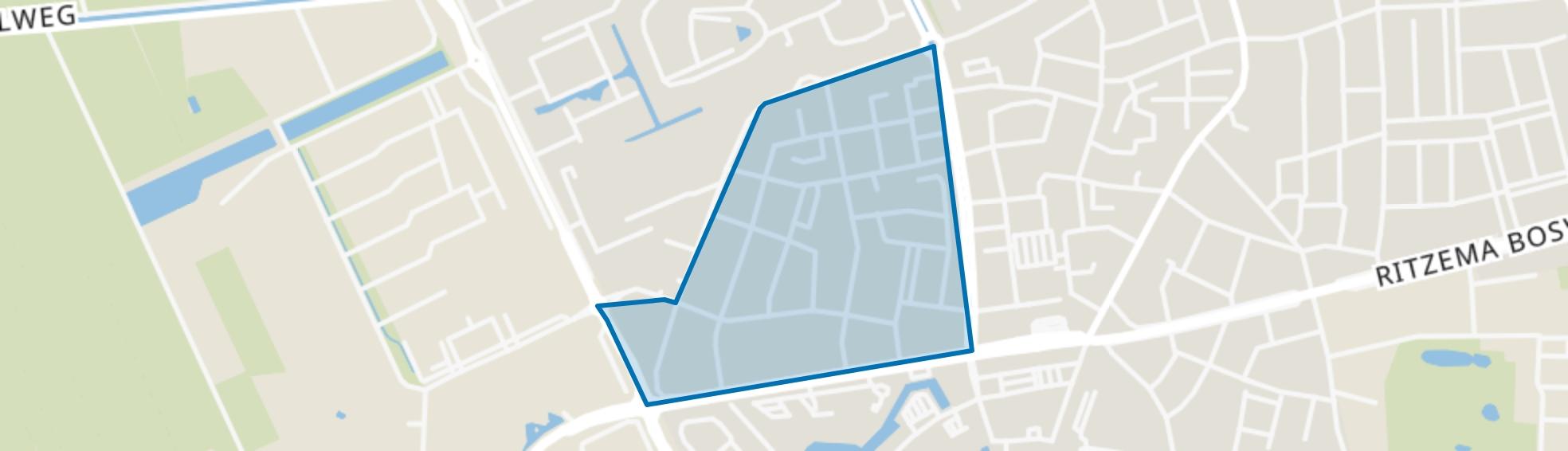 De Buurt-West, Wageningen map