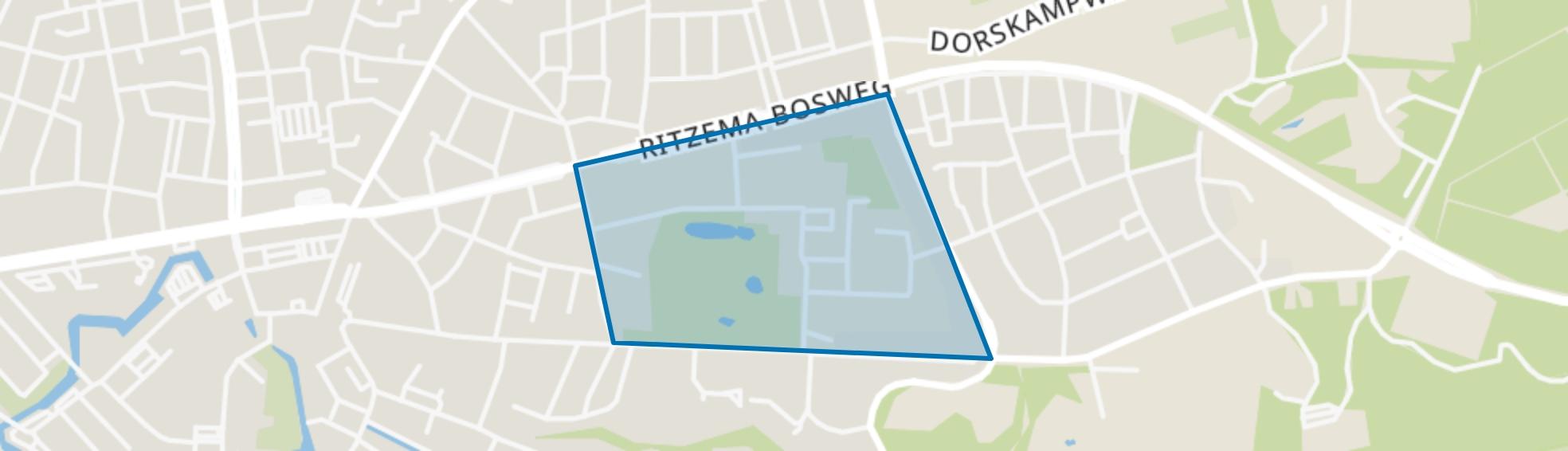 De Dreijen, Wageningen map