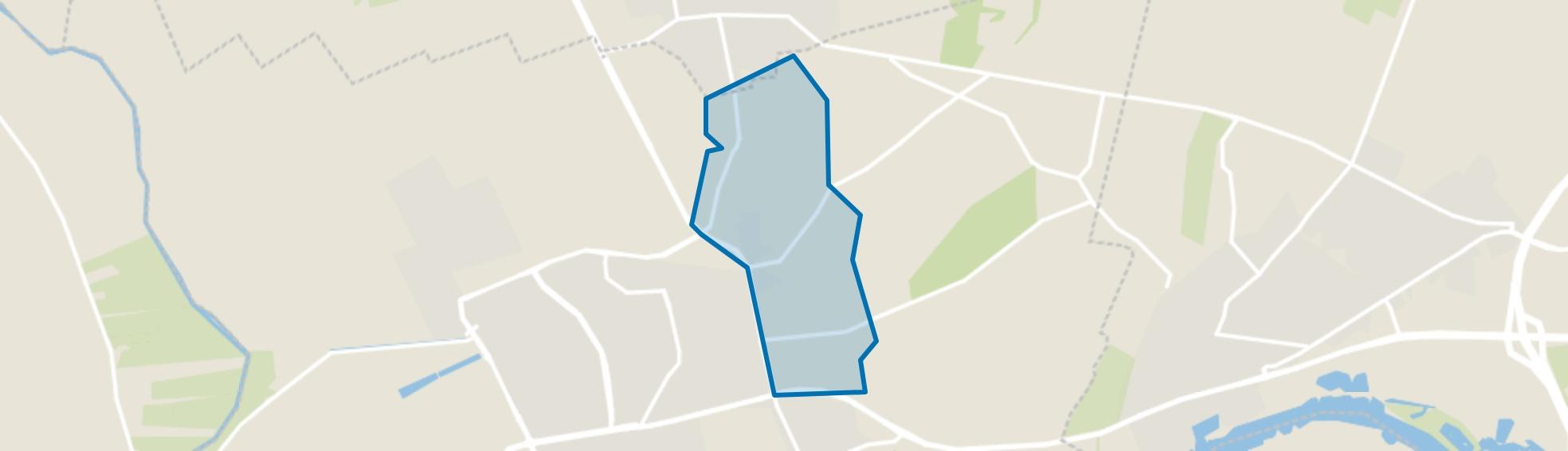 De Eng, Wageningen map