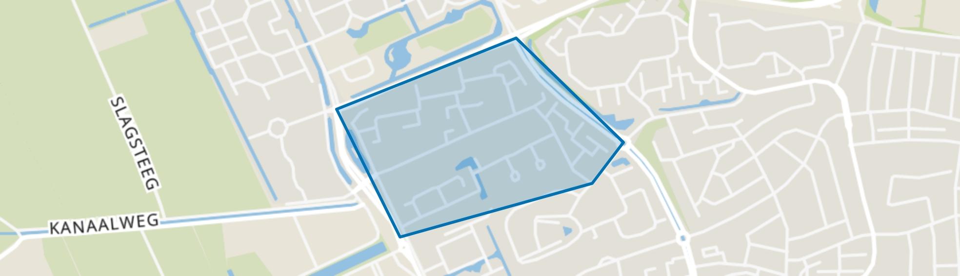 De Weiden, Wageningen map