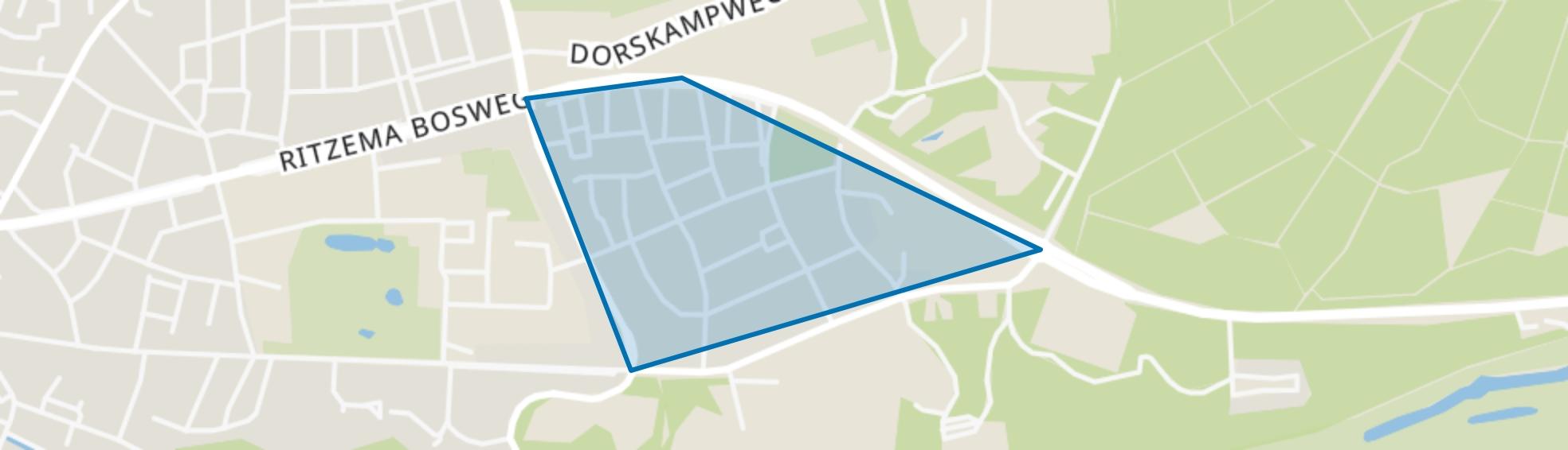 Hamelakkers, Wageningen map