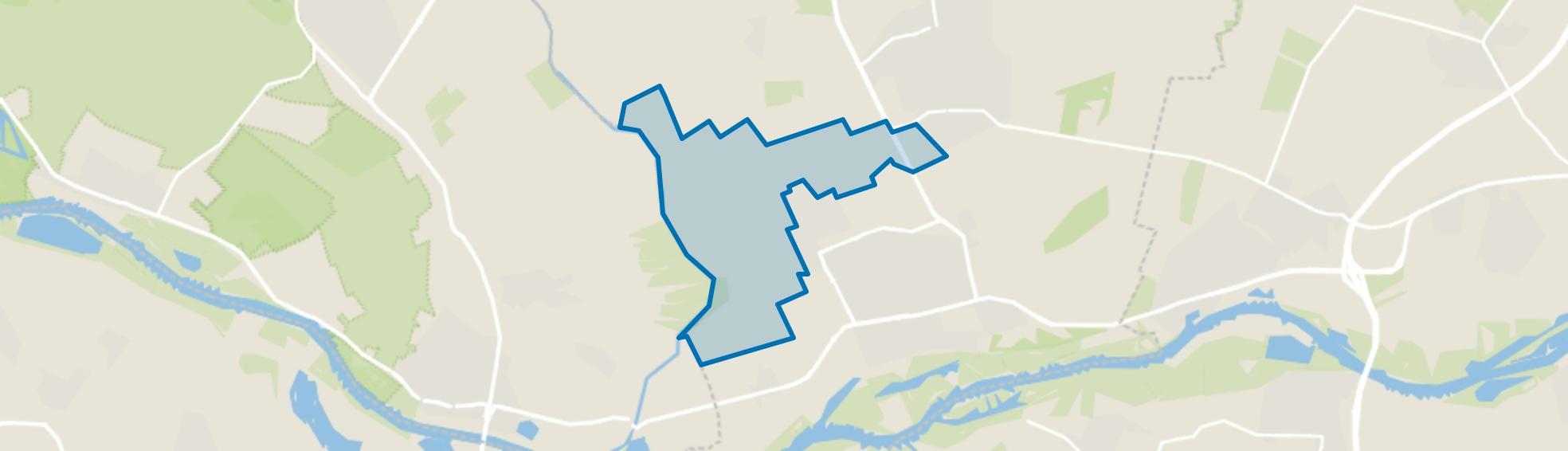 Het Binnenveld, Wageningen map