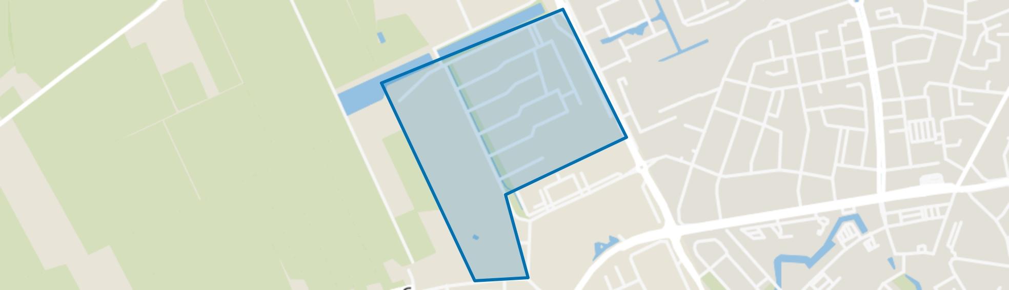 Kortenoord-Oost, Wageningen map